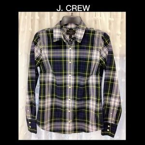 ⚜️J. CREW 2 Plaid Button Up ⚜️
